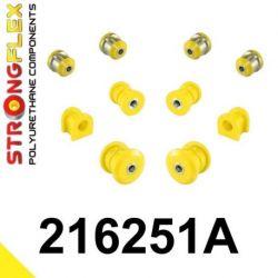 216251A: Predná náprava - SADA silentblokov SPORT