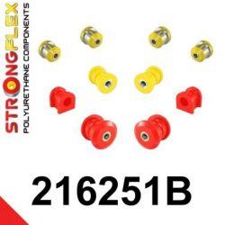 216251B: Predná náprava - SADA silentblokov