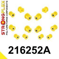 216252A: Zadná náprava - SADA silentblokov SPORT