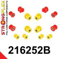 216252B: Zadná náprava - SADA silentblokov