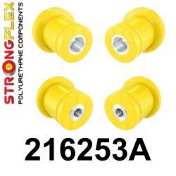216253A: Zadná nápravnica - SADA silentblokov SPORT