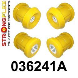 036241A: Zadná nápravnica - sada silentblokov SPORT