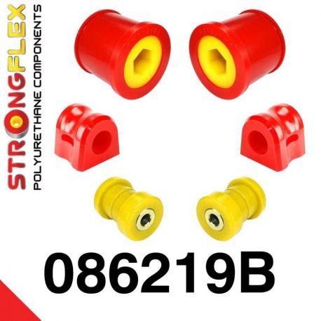086219B: Predná náprava - sada silentblokov