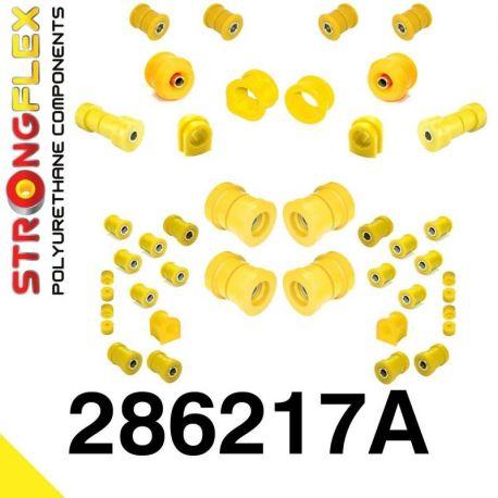 286217A: Sada silentblokov prednej aj zadnej nápravy R33 R34 SPORT