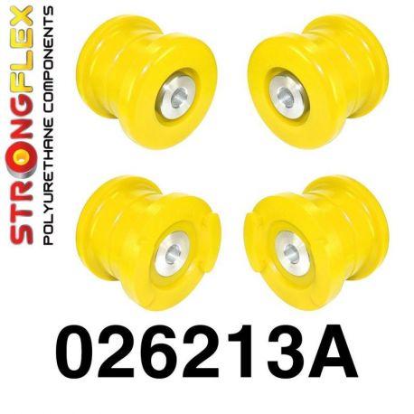 026213A: Predná nápravnica - sada silentlblokov SPORT
