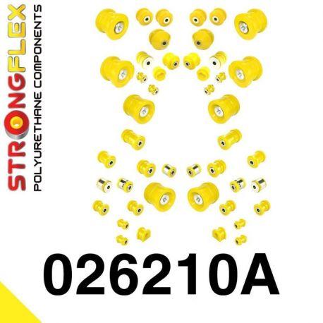 026210A: Kompletná SADA silentblokov A6 C6 SPORT