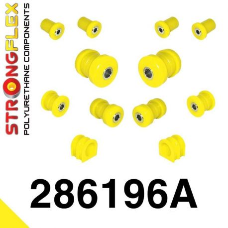 286196A: Predná náprava - sada silentblokov SPORT