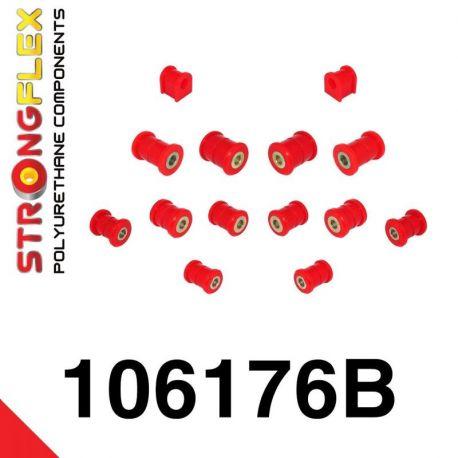 106176B: Sada silentblokov zadnej nápravy