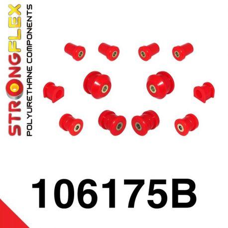 106175B: Predná náprava - sada silentblokov