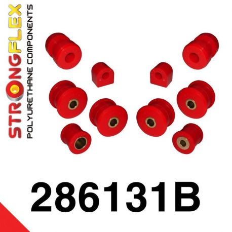 286131B: Predná náprava - sada silentblokov
