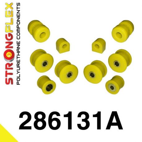 286131A: Predná náprava - sada silentblokov SPORT