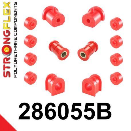 286055B: Predná náprava - sada silentblokov
