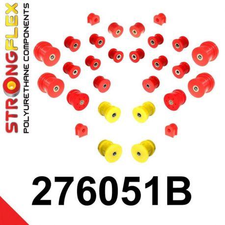 276051B: Predná a zadná náprava Kompletná sada silentblokov silentblokov KOMPLET