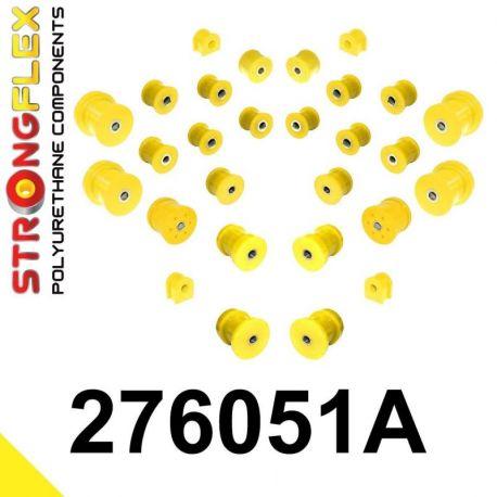 276051A: Predná a zadná náprava Kompletná sada silentblokov silentblokov KOMPLET SPORT
