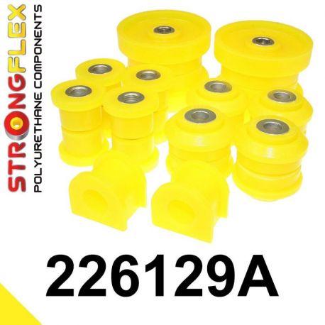 226129A: Zadná náprava - sada silentblokov SPORT