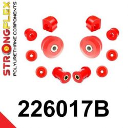 226017B: Predná náprava - sada silentblokov 17 19mm