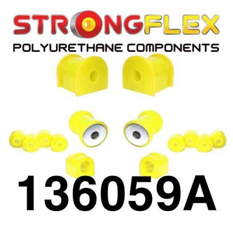 136059A: Predná náprava - sada silentblokov 16-22mm SPORT