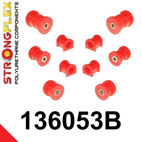 136053B: Sada silentblokov prednej a zadnej nápravy