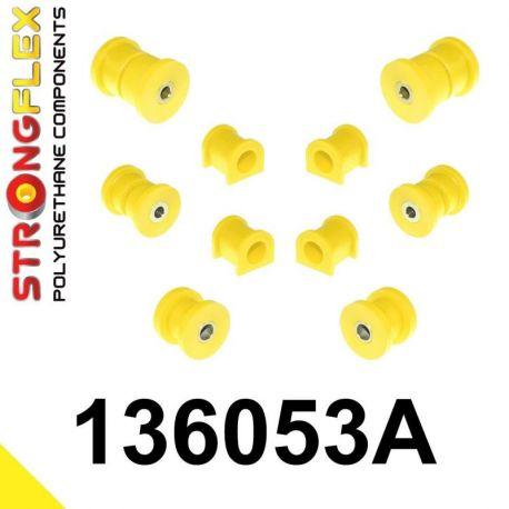 136053A: Sada silentblokov prednej a zadnej nápravy SPORT