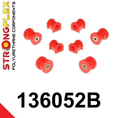 136052B: Predná náprava - sada silentblokov