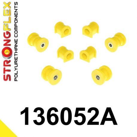 136052A: Predná náprava - sada silentblokov SPORT