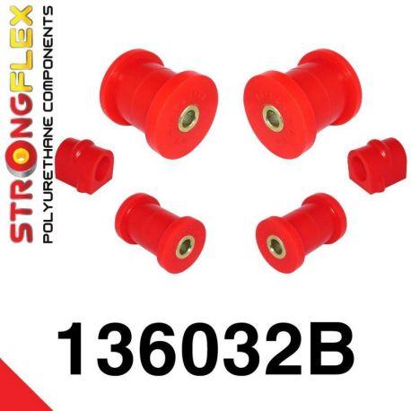 136032B: Predná náprava - sada silentblokov 16-24mm
