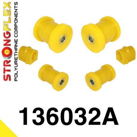 136032A: Predná náprava - sada silentblokov 16-24mm SPORT