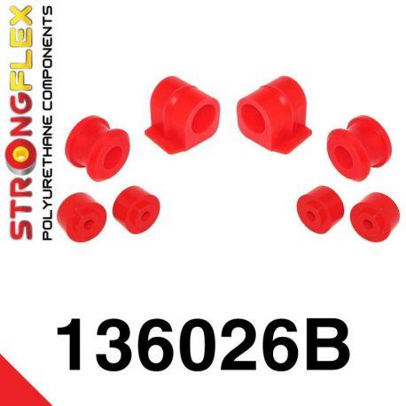 136026B: Predný stabilizátor - silentblok uchytenia Sada 16-24mm