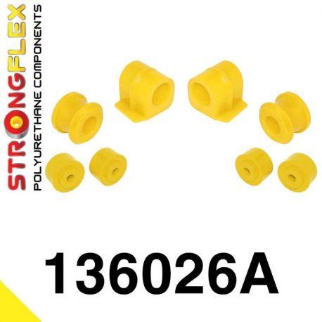136026A: Predný stabilizátor - silentblok uchytenia Sada 16-24mm SPORT