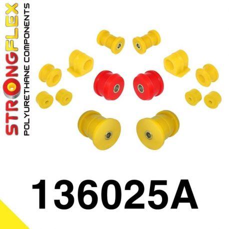 136025A: Predná a zadná náprava Kompletná sada silentblokov silentblokov KOMPLET 16-24mm SPORT