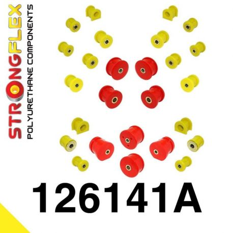 126141A: Kompletná sada silentblokov SPORT