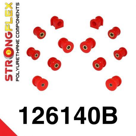 126140B: Sada silentblokov zadnej nápravy