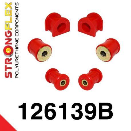 126139B: Predná náprava - sada silentblokov