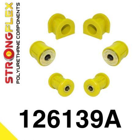 126139A: Predná náprava - sada silentblokov SPORT