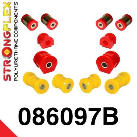 086097B: Predná náprava - sada silentblokov