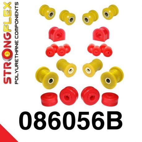 086056B: Predná náprava - sada silentblokov