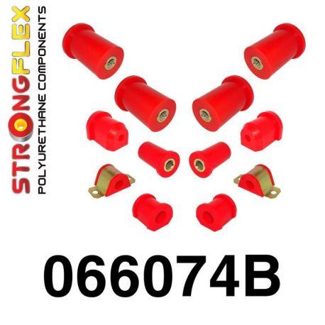 066074B: Predná a zadná náprava Kompletná sada silentblokov silentblokov KOMPLET