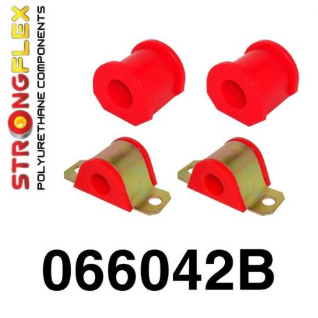 066042B: Predný stabilizátor - silentblok uchytenia Sada Polyurethane SPORT
