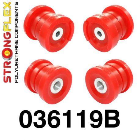 036119B: Zadná nápravnica - sada silentblokov