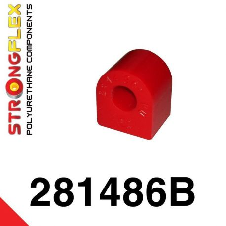 281486B: Predný stabilizátor - silentblok uchytenia
