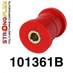 101361B: Predný spodný Zadné listové péro - silentblok uchytenia