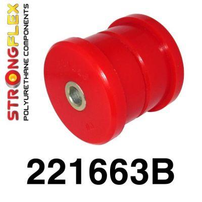 221663B: ZADNÉ vlečené rameno - silentblok do karosérie