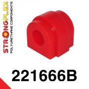 221666B: Zadný stabilizátor - silentblok uchytenia