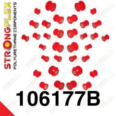 106177B: Sada silentblokov prednej aj zadnej nápravy