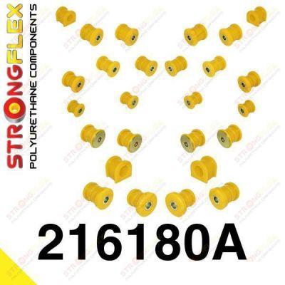 216180A: Sada silentblokov prednej aj zadnej nápravy SPORT