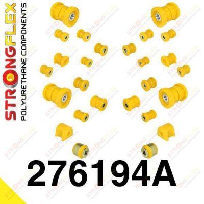 276194A: Sada silentblokov prednej aj zadnej nápravy SPORT