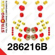 286216B: Sada silentblokov prednej aj zadnej nápravy R32