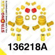 136218A: Sada silentblokov prednej aj zadnej nápravy SPORT