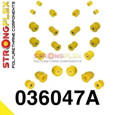 036047A: Predná a Zadná náprava - SADA silentblokov SPORT