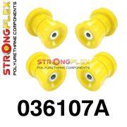 036107A: Zadná nápravnica - sada silentblokov SPORT